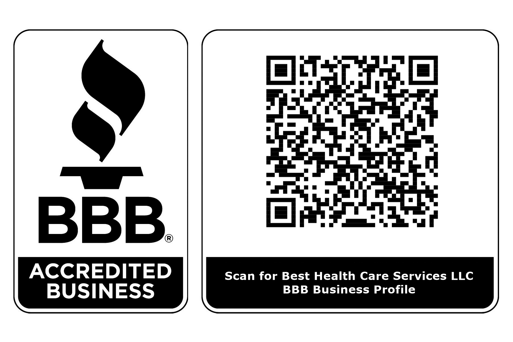 BBB Accredited Business QR Code