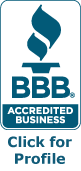 BBB Accredited Business Click Profile logo